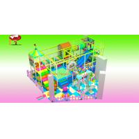 Buy cheap Amusement Kids Indoor Soft Playground by Designed Play Area 50M² PTC-I14 from wholesalers