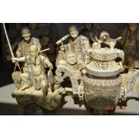 Buy cheap Bone king and queen statues bone buddha figurines bone carvings product