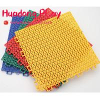 Buy cheap Block Carpet Playground Floor Mats ,  Interlock Playground Safety Mats PP Suspended from wholesalers
