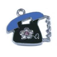 Buy cheap Cute Telephone New Design Crystal Pendant from wholesalers