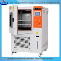 Buy cheap Programmable Touch Screen Temperature Humidity Climatic Environmental Test Chamber Price from wholesalers