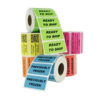 Buy cheap Custom Printed Adhesive Sticker Label / Customized Label Sticker Printing from wholesalers