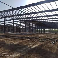 Buy cheap 2018 new arrival Customize Prefabricated Galvanized Steel Structure from wholesalers