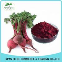Buy cheap 100% Water Soluble Natural Pigment Red Beet Juice Powder from wholesalers