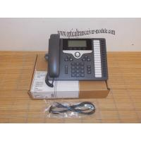 Buy cheap CP-7861-K9 SIP 7800 Series VoIP IP Phone Wired Ethernet RJ45 Low Power Dissipation product
