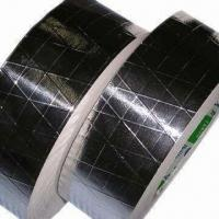 Buy cheap Reinforced Aluminum Tape with Tri-way Scrim, Used for Joint Sealing from wholesalers