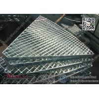 Buy cheap Special Shape Galvanised Metal Bar Grating | 40X5mm Bearing Bar | 40X100mm mesh hole from wholesalers