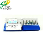 Buy cheap All Size Dental Diamond Burs , Efficient FG High Speed Dental Burs from wholesalers
