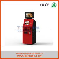Buy cheap Ticket Prepaid Cards Vending Self Service Ticket Machine Custom from wholesalers