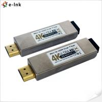 Buy cheap 10GHz 4K x 2K 30fps Mini Hdmi Over Fiber Optic Extender Converter up to 300m from wholesalers