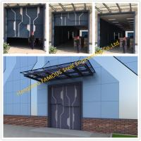 Buy cheap Sectional Steel Lift Door Vertical Panel Lifting Industrial Sectional Door For Garage Use from wholesalers