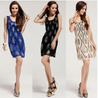 Buy cheap Hand Bead Glitter Sequins Pattern Slim Party Cocktail Dresses Casual Couture from wholesalers