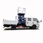 Buy cheap cheaper price JMC new 10m fork lift aerial working platform truck for sale, Scissor type overhead platform truck from wholesalers