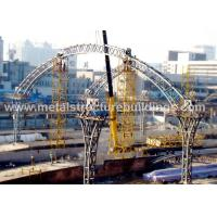 Buy cheap Heavy Gauge Metal Steel Building Trusses Structure For Industrial Buildings from wholesalers
