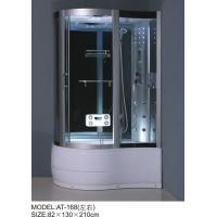 Buy cheap Foot Massage Bathroom Shower Enclosures 3 Sided Waste Drain / Syphon Included from wholesalers
