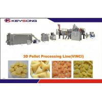 Buy cheap 380V /  220V 3d Snacks Pellets Machine , Full Automatic Snacks Making Machine from wholesalers