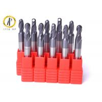 Buy cheap Small Diameter Cnc End Mill Bits , Carbide Ball Nose End Mill For Aluminum from wholesalers