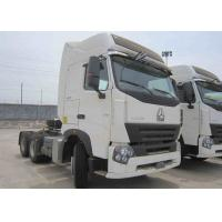 Buy cheap 25 Tons Howo Tractor Head , Sinotruk Howo Truck With Low Fuel Consumption from wholesalers