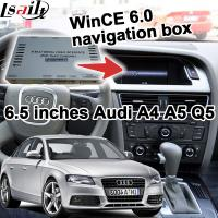 Buy cheap Offline Navigation Video Interface For 2005-2009 Audi Video Interface A6 A8 Q7 2G MMI WinCE System from Wholesalers