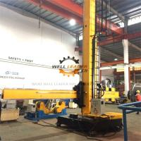 Buy cheap Fixed Base Column And Boom Welding Manipulators With Manual Control Box from wholesalers