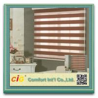 Buy cheap Zebra Roller Curtain Blackout Modern Curtain Fabric / Curtain Cloth with Polyester and Acrylic from wholesalers