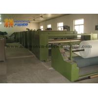 Buy cheap Custom Needle Punch Nonwoven Machine , Car Interior Fabric Manufacturing Machine from wholesalers
