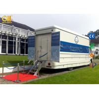 Buy cheap Hydraulic Movies System Truck Mobile Virtual Movie Theater 7D / 8D Kino Equipment product