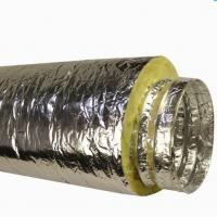 Buy cheap Insulated Flexible Duct With Fberglass Wool product