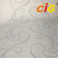 Buy cheap wholesale custom 100% polyester mattress ticking fabric for mattress from wholesalers