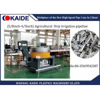 Buy cheap 16mm / 20mm Plastic Pipe Production Line For Agricultural  Drip Irrigation Pipeline from wholesalers