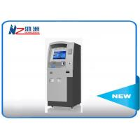 Buy cheap Custom hotel self check in kiosk LED touch screen 500cd/m2 Brightness from wholesalers