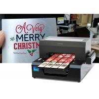 Buy cheap Mini Digital T Shirt Printing Machine / Iphone Case Uv Printer 50000 Hours Lifespan from wholesalers