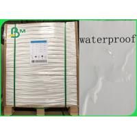 Buy cheap Recyclable Environmental Waterproof 200gsm - 450gsm Stone Paper In Ream from wholesalers
