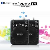 Buy cheap Voice Amplifier Speaker With Wireless Headset Microphone FM Radio MP3 Player Recorder from wholesalers