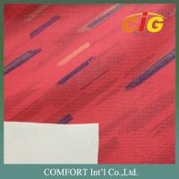Buy cheap Multicolor 1.0MM Printing PVC Artificial Leather / Auto Upholstery Fabric product