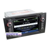 Buy cheap Audi A6 S56 Double Din Car Stereo with Sat Nav , GPS Navigation Sat Nav from wholesalers