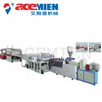 Buy cheap PVC Foam Boad Plastic Plate Making Machine With Capacity 400kg/H 600kg/H from wholesalers