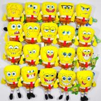 Buy cheap Fashion Cartoon The SpongeBob 20 Style different expression Plush Stuffed Toys from wholesalers