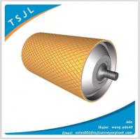 Buy cheap Hot cast polyurethane lagging pulley from wholesalers