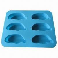 Buy cheap Custom-made Cake Molds, Comes in Various Colors, Made of 100% Food Grade Silicone with LFGB Approval product