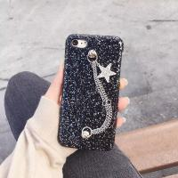 Buy cheap Korea Style Glitter Metal Back Chain Star Strap Cell Phone Case Cover For iPhone 7 6s Plus from wholesalers