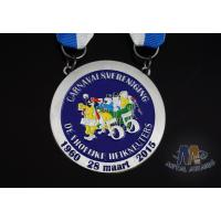 Buy cheap Compact Custom Made Coins Medallions , National Service Medal Circle Shape from wholesalers