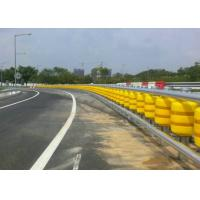 China Highway Protective Safety Roller Barrier Eva / Pu Material For Road Traffice Safty on sale