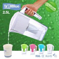 Buy cheap Household Portable Alkaline Water Pitcher 2.5L With Activated Carbon filter from wholesalers