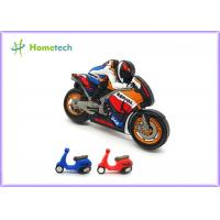 Buy cheap Small Size Promotion Motorcycle Usb Flash Drive , Moto Car Soft Plastic Usb Drives / U Disk product