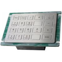 Buy cheap Plug and play USB interface rear panel mount metal industrial keypad for cash machines from wholesalers