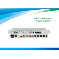Buy cheap 10/100 Mbps 8 E1 Multiplexer , Ethernet Pdh Multiplexing 75ohm 2.5KG from wholesalers