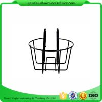 Buy cheap Round Metal Wire Balcony Planting Hanging Baskets / Hanging Pots For Plants from wholesalers