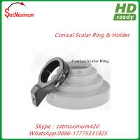 Buy cheap 100% aluminium Conical Scalar Kit for Offset Satellite Dishes LNBF from wholesalers