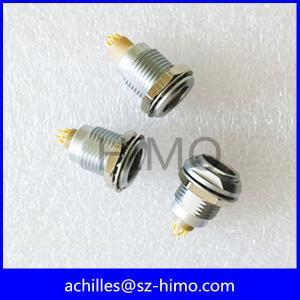 wholesale 3 PIN female lemo push pull receptacle connector